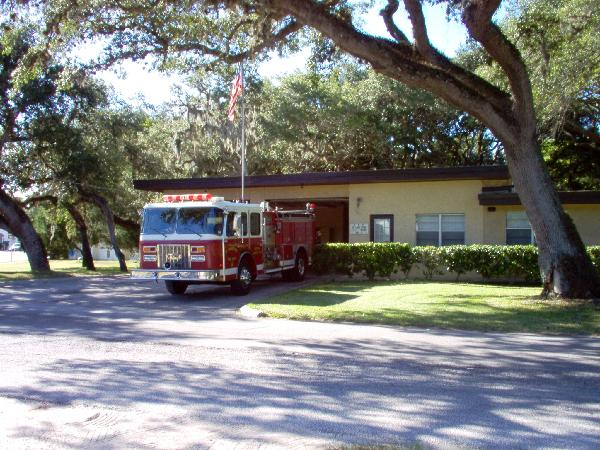 Second Fire Station with Fire Truck