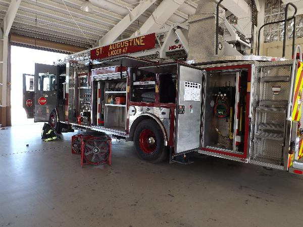 St. Augustine Ladder 47 Engine