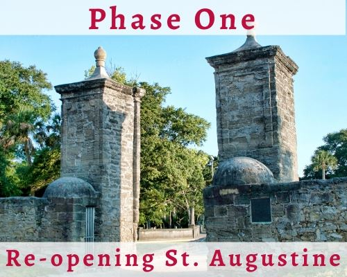 image of St. Augustine City Gates, Phase 1 Re-opening St. Augustine