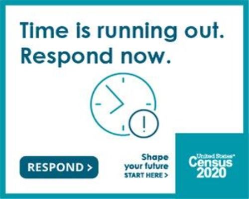 time is running out respond to the 2020 census today