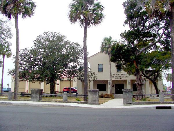 St. Augustine Fire Department Building