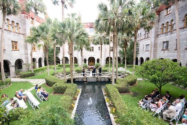 Lightner Museum Courtyard at City Hall